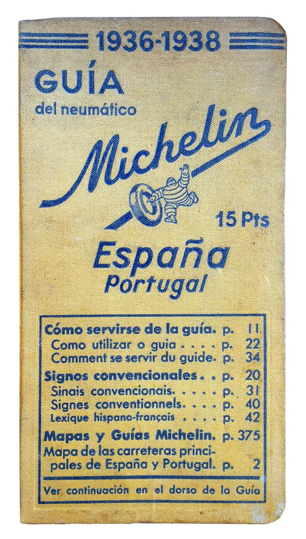 Guía Michelin de 1936. ::