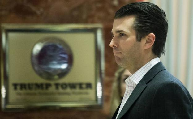 Donald Trump Jr., hijo del presidente./Afp
