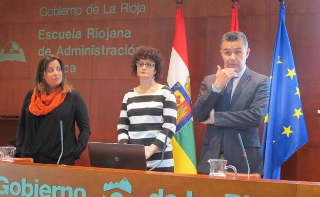 Clausura del curso sobre abusos infantiles. /GOB. RIOJA