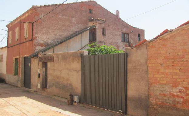 Antiguo salón de baile Ciudad Jardín, donde fueron alojados os presos durante su estancia en Badarán.