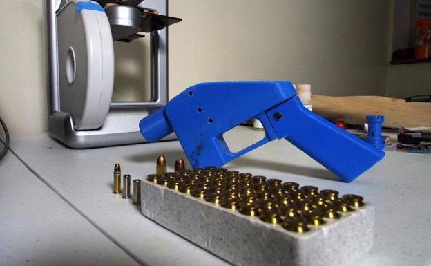Pistola 'Liberator&#039, cuyos planos estarán disponibles en internet a partir del 1 de agosto