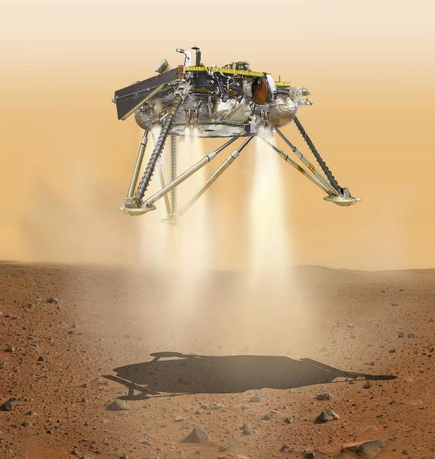 Perforar Marte, nueva misión de la NASA