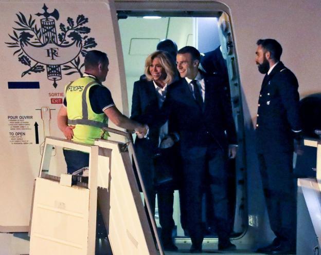 El distendido y llamativo saludo entre Vladimir Putin y Mohamed bin Salman