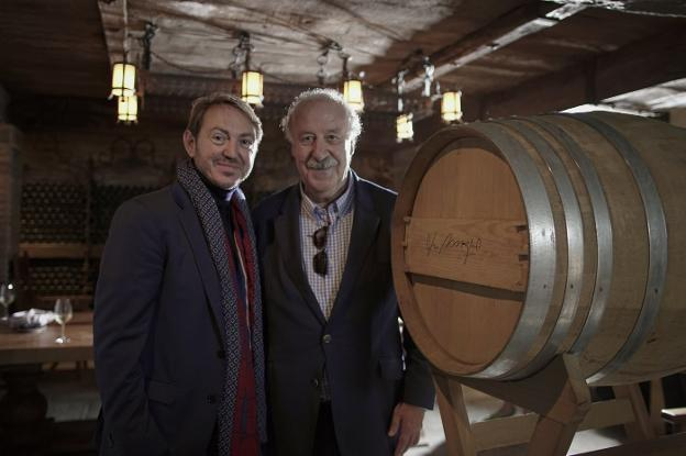 Santiago Vivanco y Vicente del Bosque. :: vivanco/