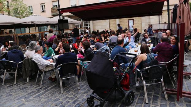 Cada Vez Más Terrazas Y Más Problemas En Logroño La Rioja