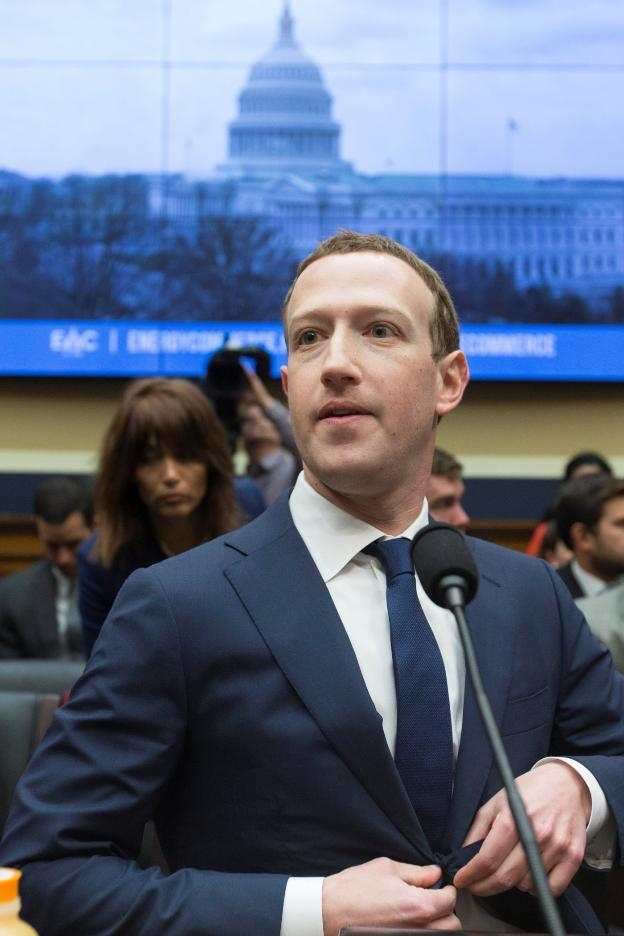 Mark Zuckerberg, durante su comparecencia en Washington. :: efe