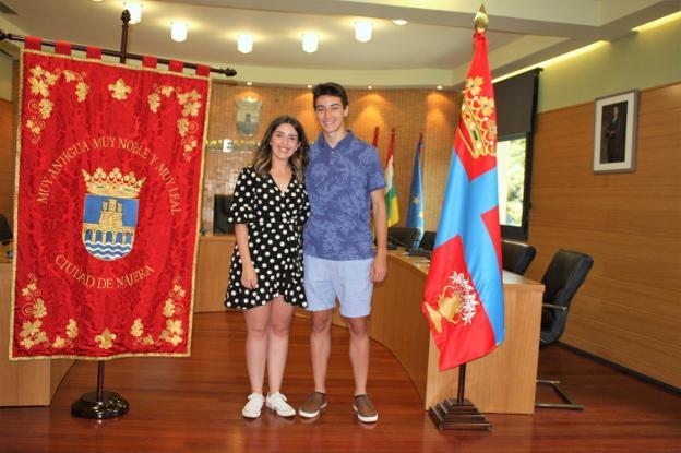 Lucía Morras y Jesús Lacalle, reyes de las fiestas que comenzarán en septiembre