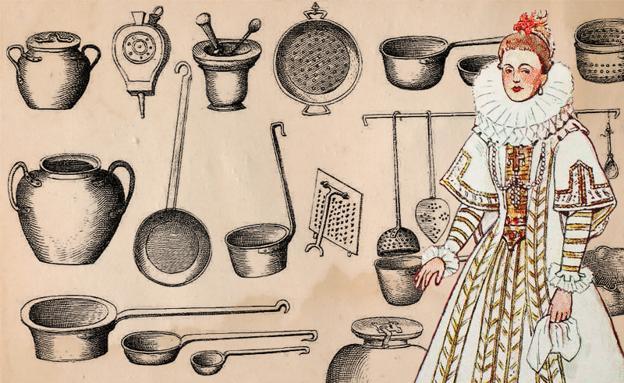 Menaje de cocina para marquesas y virreinas la rioja for Utensilios cocina madrid