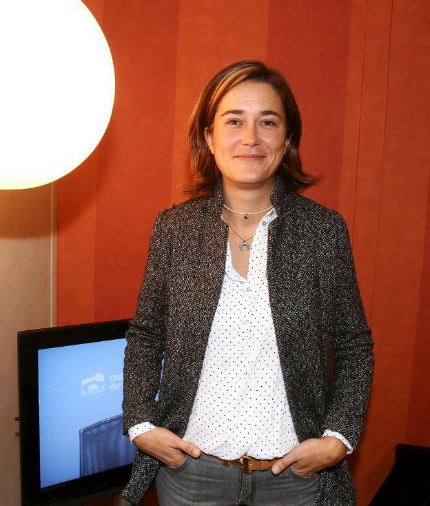 Macarena Baylos, responsable de la Unidad de Proyectos Europeos del CTIC-CITA. :: j.h./