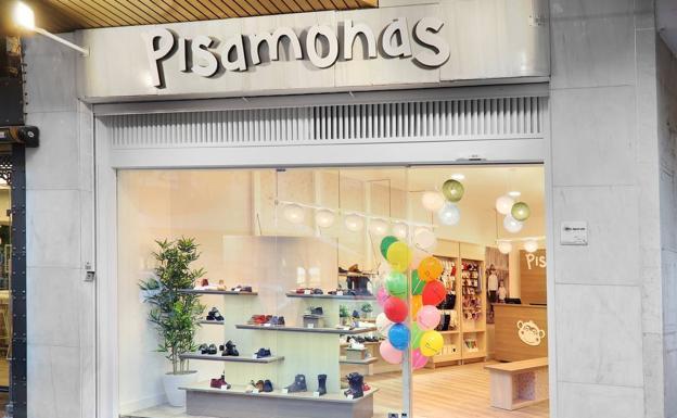 9eb38c11d15 La zapatería infantil Pisamonas abre su primera tienda en Logroño ...