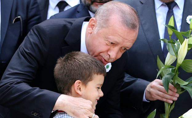 Erdogan. /Reuters