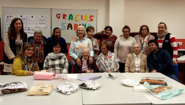 YMCA homenajea a Sabina Ortiz - La Rioja