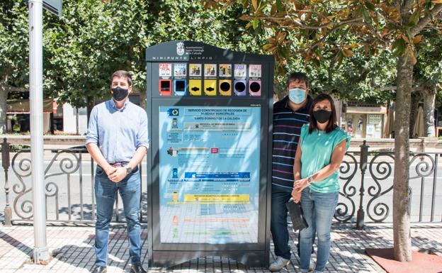 Santo Domingo de la Calzada instala un mini punto limpio