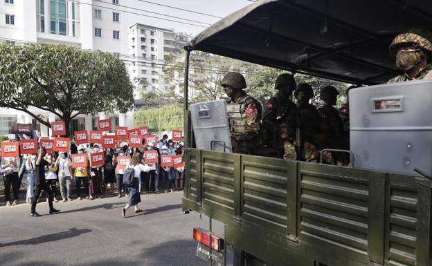 Birmania: la sombra de China